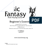 Basic Fantasy RPG - Beginner's Essentials r6