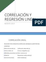 Correlación y Regresión Lineal (1)