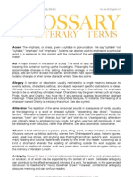 Glossary of Literary Terms (Beam Version)