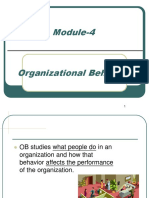 1. OB Introduction (Organizational Behaviour)