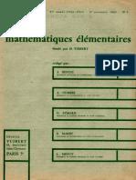 Journal de Mathematics Elementaires-1964-3