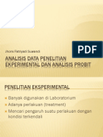 Analisis data Penelitian Ekperimental dan Analisis Probit.pptx
