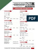 R.M 1 y 2 Cuatro Operaciones