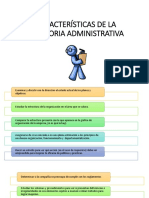 Características de La Auditoria Administrativa