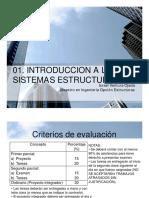 Tema 01. Introduccion a Los Sistemas Estructurales