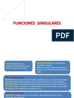 Funciones Singulares