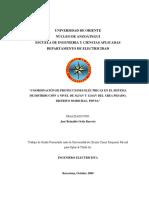 Coordinación de Protecciones Eléctricas en El Sistema de Distribución a Nivel de 34,5 Kv y 13,8 Kv Del Área Pesado, Distrito Morichal, Pdvsa