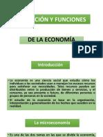 Economía, definiciones