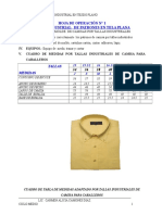 Camisa de Caballero Tallas Industriales
