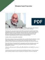 Haji Momentum Hilangkan Segala Perpecahan