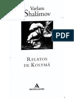 Shalámov - Relatos de Kolyma