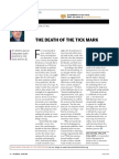 The Death of Tick Mark- Internal Auditor