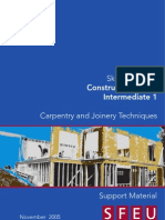 Construction Carpentry and Joinery Techniques