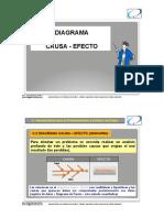 3. Diagrama Causa - Efecto
