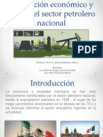 Aportes Del Petroleo en Mexico