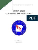 Design Build Procedures Final