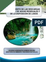 6. Reglamento de Las Descargas y Reuso de Aguas Residuales y de Las Disposicion de Lodos