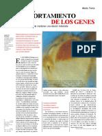 El Comportamiento de Los Genes Comprimido