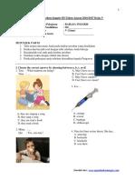 Ukk Bahasa Inggris Sd Kelas 5 (5)