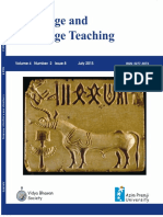 Language and Language Teaching -8July2015