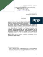 Procesos Administrativos en La UNA
