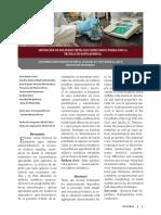 Obtención de Sulfuros Metálicos Semiconductores Por La Tecnica de Deposito Quimico