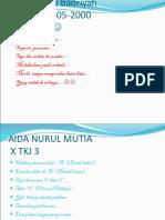 Copy of Power Point Aida Nurul Mutia