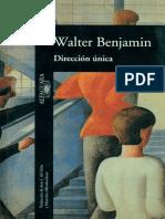 Benjamin, Walter - Direccion Unica