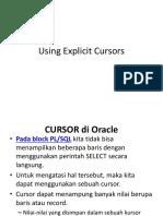 07b Explicit Cursor