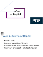 12 Cost of Capital