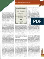 Un librito poético de don Manuel Martí Herrero