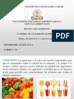 Ayala- Pigmentos y Carotenoidess