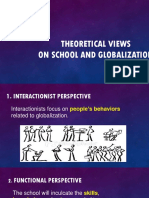 Theoretical Views on School and Globalization