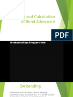 Bending and Calculation of Bend Allowance.pptx