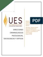 Direcciones criminologicas