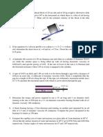 Module 1 Numericals Questions