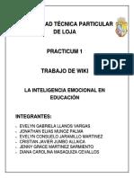 Wiki 2bim La Inteligencia Emocional1