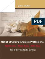 Sổ Tay Robot Structural Analysis Profesional - Trần Quốc Cường