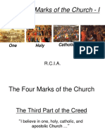 The 4 Marks of the Church I
