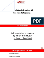 Digital Guidelines for All Product Categories (F)