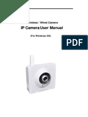 Camera IP Cam Manual | Ip Address | Computer Network