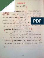 Psalmul 50 partitura