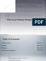 The Lost Voices Project