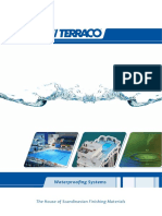 Waterproofing Systems Brochure
