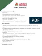 Gelatina de melão.pdf