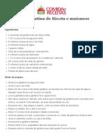 Gelatina de Ricota e maionese.pdf