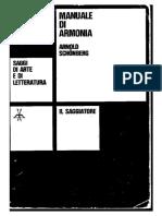 Schoenberg Arnold Manuale Di Armonia