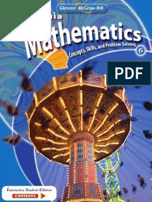 California Mathematics Grade 6 pdf   Fraction (Mathematics