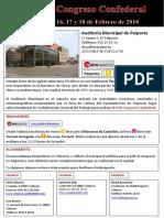 Documento Informativo Congreso Confederal Valencia