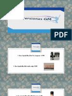 Catalago Inversiones GM